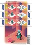 Holland - Europa 2015 - Postfrisk ark Robot og ludo