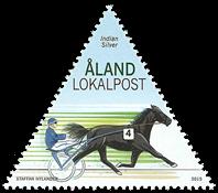 Åland - Trotting hestevæddeløbet - Postfrisk frimærke