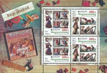 Ungarn - Europa 2015 - Postfrisk miniark