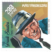 Ungarn - Frank Sinatra - Postfrisk frimærke