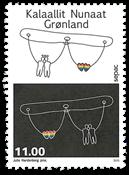 Grønland - Sepac 2015 - Postfrisk frimærke