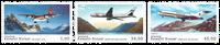 Grønland - Flyserie - Postfrisk sæt 3v
