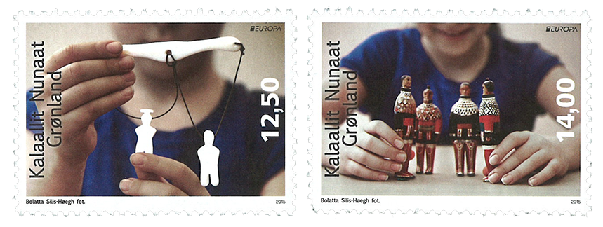 Grønland - Europa 2015 - Postfrisk sæt 2v