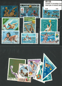 Water polo 15 different stamps
