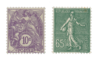 France 1927 - YT 233/34 - Unused