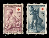 France 1955 - YT 1048/49 - Cancelled