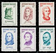 France 1956 - YT 1082/87 - Unused