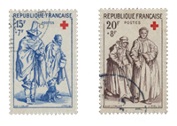 France 1957 - YT 1140/41 - Cancelled