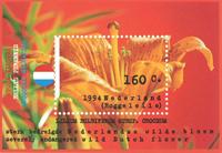 Holland - Lilje - Postfrisk miniark