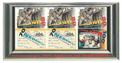 Holland - Sommerens kultur - Postfrisk miniark