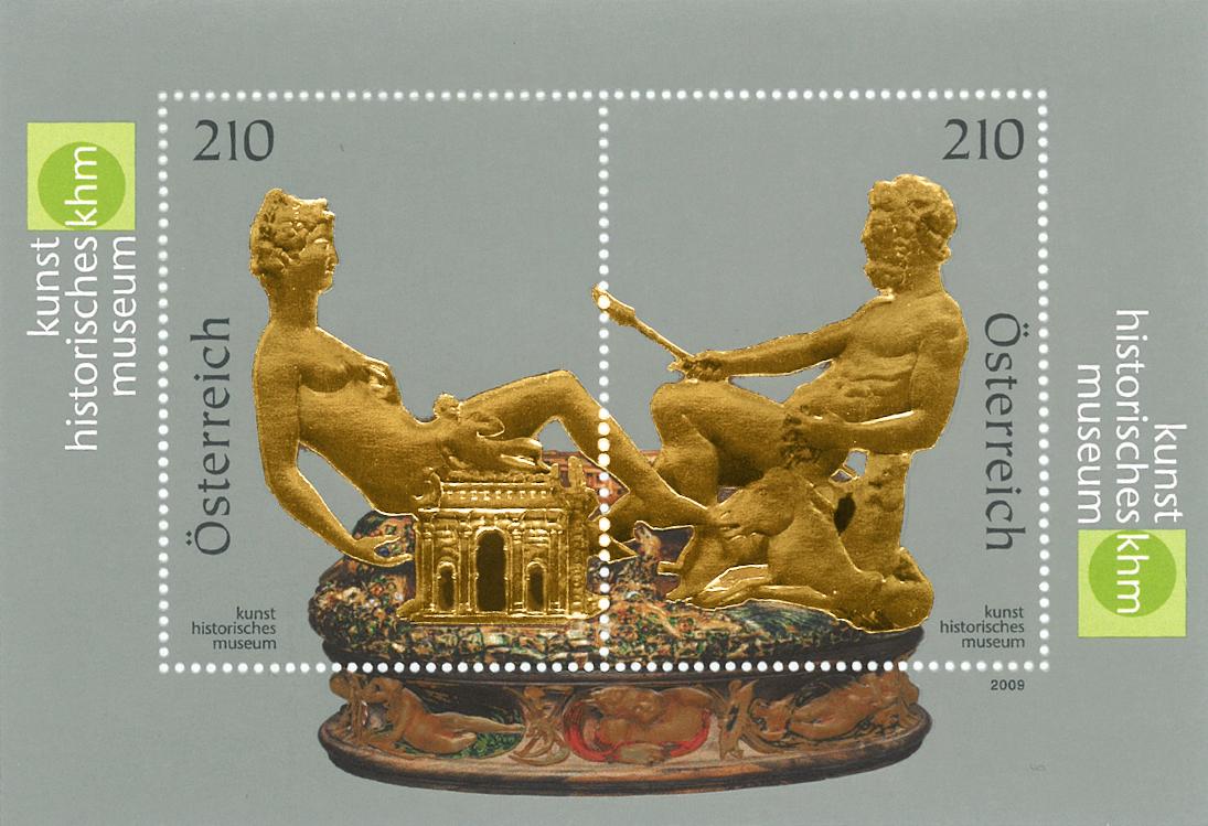 Østrig - Saliera - Postfrisk miniark