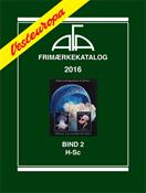 AFA Vesteuropa frimærkekatalog bind 2, 2016 (H-Sc)