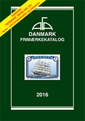 AFA Denmark 2016 stamp catalogue with spiral back binding