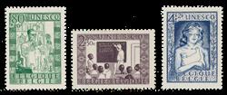 Belgien 1951 - OBP 842/44 - Postfrisk