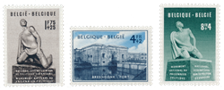 Belgien 1951 - Postfrisk - OBP 860/62