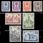 Belgien 1951 - Postfrisk - OBP 868/75
