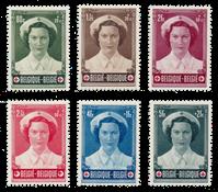 Belgium 1953 - OBP 912/17 - Mint