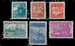 Belgien 1948 - OBP 761/66 - Postfrisk