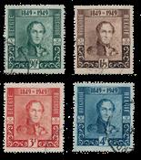 Belgium 1949 - OBP 807/10 - Cancelled