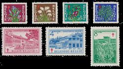 Belgien 1950 - OBP 834/40 - Postfrisk