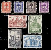 Belgien 1952 - OBP 868/75 - Stemplet