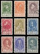 Belgium 1952 - OBP 880/88 - Cancelled