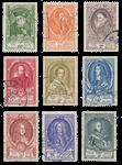 Belgien 1952 - OBP 880/88 - Stemplet