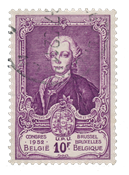 Belgium 1952 - OBP 889 - Cancelled