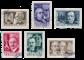 Belgien 1955 - OBP 973/78 - Stemplet