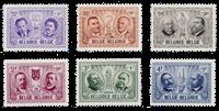 Belgium 1957 - OBP 1013/18 - Mint