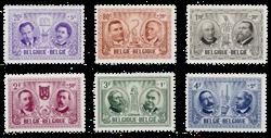 Belgien 1957 - Postfrisk - OBP 1013/18