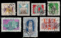 Belgien 1957 - OBP 1039/45 - Stemplet