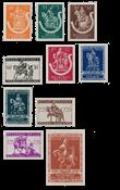 Belgium 1942 - OBP 603/12 - Mint