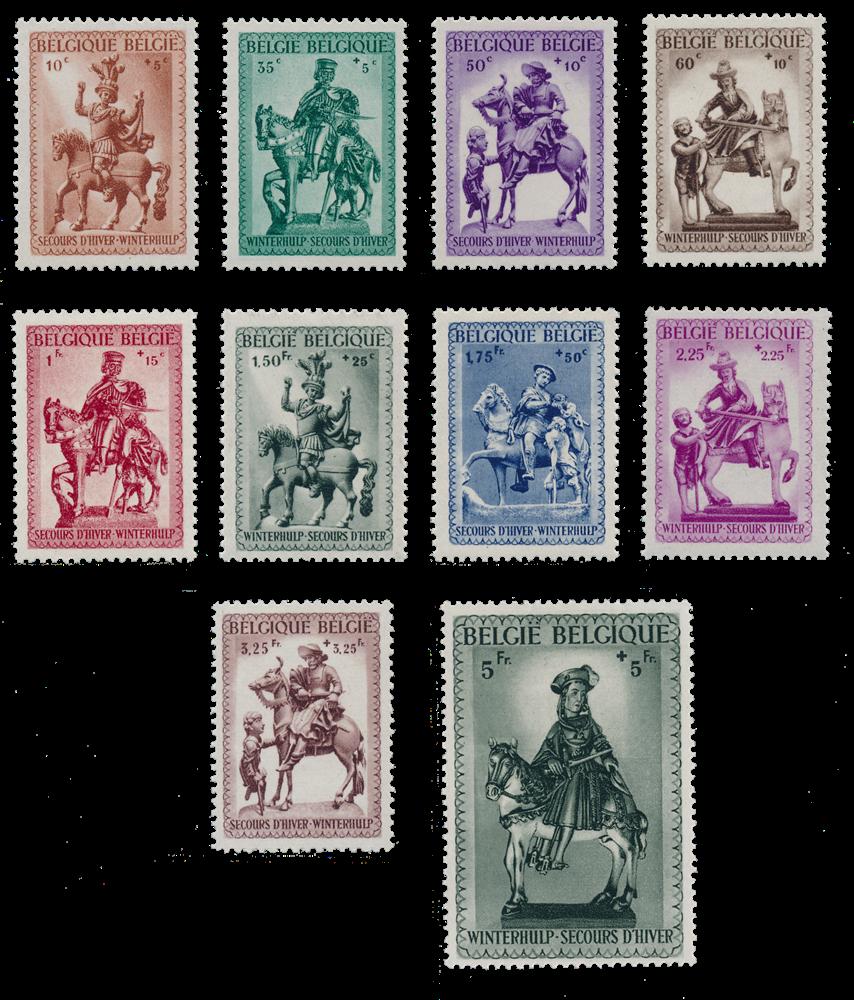 Belgien 1941 - Postfrisk - OBP 583/92