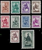 Belgium 1941 - OBP 583/92 - Mint