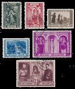 Belgium 1939 - OBP 513/18 - Cancelled