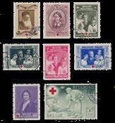 Belgium 1939 - OBP 496/503 - Cancelled