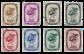 Belgien 1937 - OBP 488/95 - Stemplet