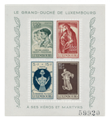 Luxembourg 1946 - Michel Block 5 - Mint