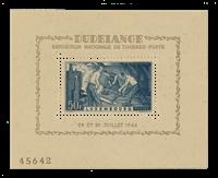Luxembourg 1946 - Michel Block 6 - Mint
