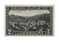 Luxembourg 1928 - Michel 207 - Mint