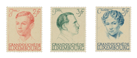 Luxembourg 1939 - Michel 339/41 - Mint