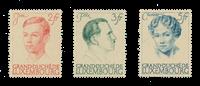Luxembourg 1939 - Michel 339/41 - Postfrisk