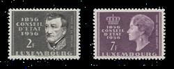 Luxembourg 1956 - Michel 559/60 - Postfrisk