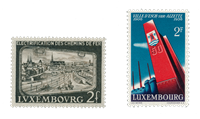 Luxembourg 1956 - Michel 551 + 558 - Mint