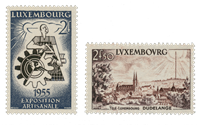 Luxembourg 1955 - Michel 535/36 - Mint
