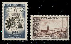 Luxembourg 1955 - Michel 535/36 - Postfrisk