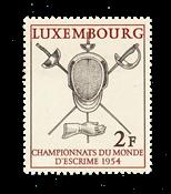 Luxembourg 1954 - Michel 523 - Postfrisk