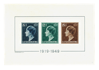 Luxembourg 1949 - Michel Block 7 - Mint