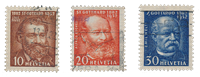 Switzerland 1932 - Michel 259/61 - Cancelled